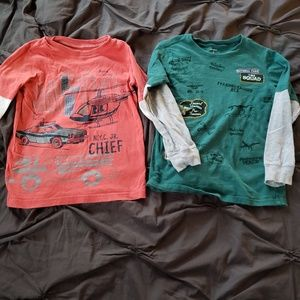 2 Carter's long sleeve tshirts